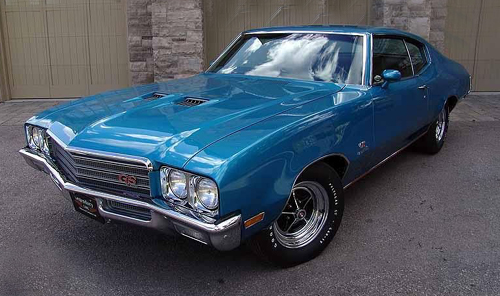 1971 Buick GS, Stage 1,