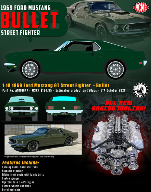 1969 Ford Mustang Street Fighter