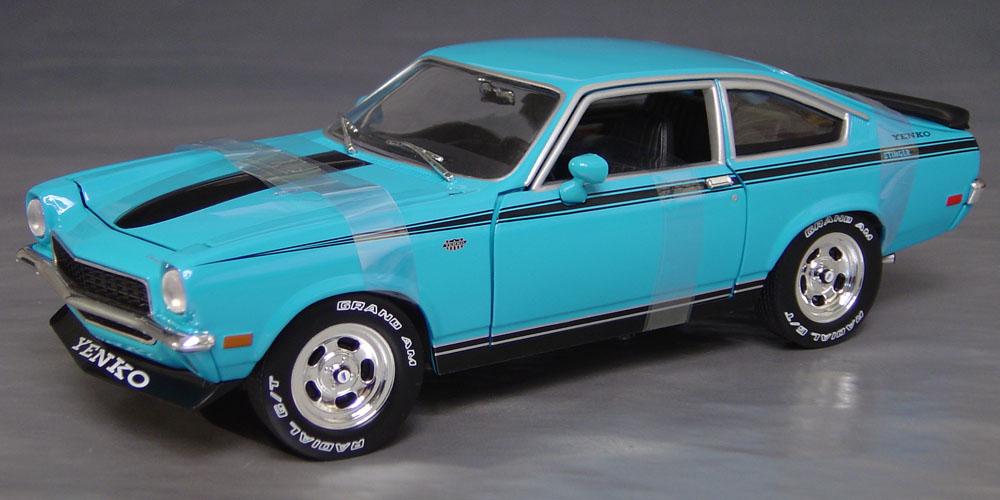 1972 Chevy Yenko Vega Stinger Details Diecast Cars