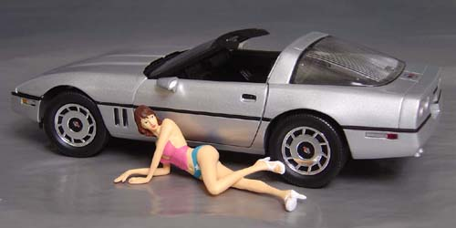Lushious Fast Woman, Display her with your favorite car!