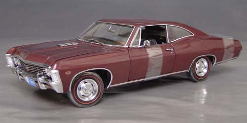 1967 Chevrolet Impala SS 427, with ralley wheels
