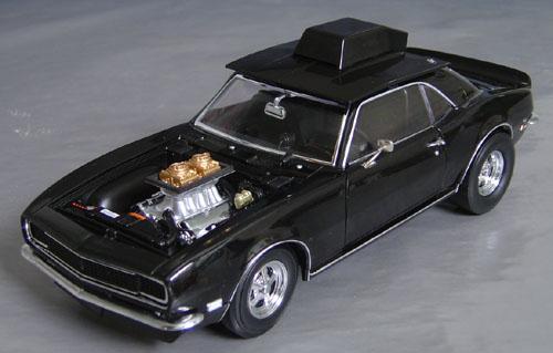 1968 Chevy Camaro Super Street 427 Pro Street Car Details