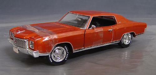 1971 Chevrolet Monte Carlo Ss 454 Details Diecast Cars