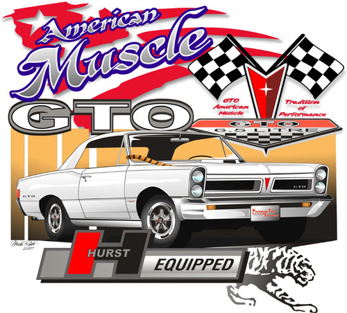 9th Annual, 2007 ed. GTO/Pontiac Nationals T-Shirt