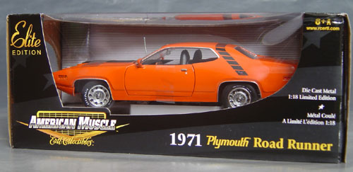 1971 Plymouth Road Runner 440-6, CHASE CAR!!
