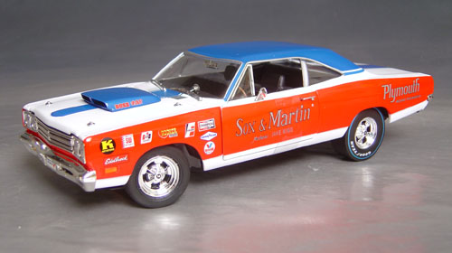1969 1 2 Sox Amp Martin Super Stock Roadrunner Details