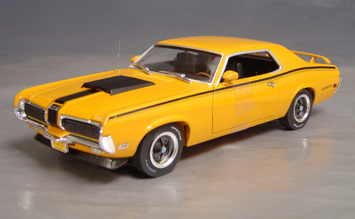 1970 Mercury Cougar Eliminator Boss 302 Details Diecast