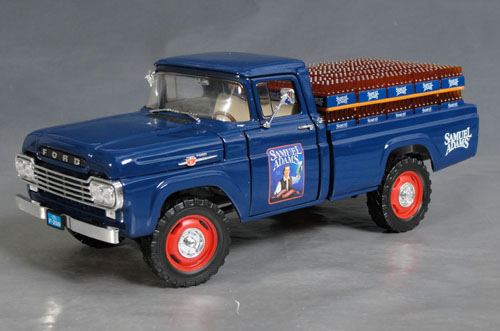 1959 ford f 250 samuel adams beer truck details diecast cars diecast model cars diecast. Black Bedroom Furniture Sets. Home Design Ideas
