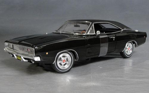 1968 dodge charger r t replica of bullitt charger details diecast cars diecast model cars. Black Bedroom Furniture Sets. Home Design Ideas