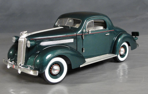 1936 Pontiac Deluxe Coupe Details Diecast Cars Diecast