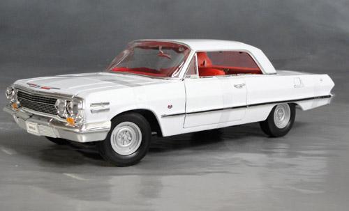 1963 Chevrolet Impala Ss Z11 409 Details Diecast Cars
