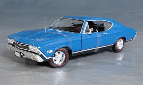 1968 Chevrolet Chevelle Ss 396 Details Diecast Cars