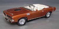 Click image to see more information about our 1971 hemi Cuda Convertible with/out billboard stripes. Only 12 produced!