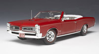 Click image to see more information about our 1966 GTO Convertible in Montero Red