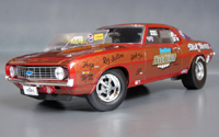 Click image to see more information about our The Fred Gibb ZL-1 AHRA Super/Stock Camaro!