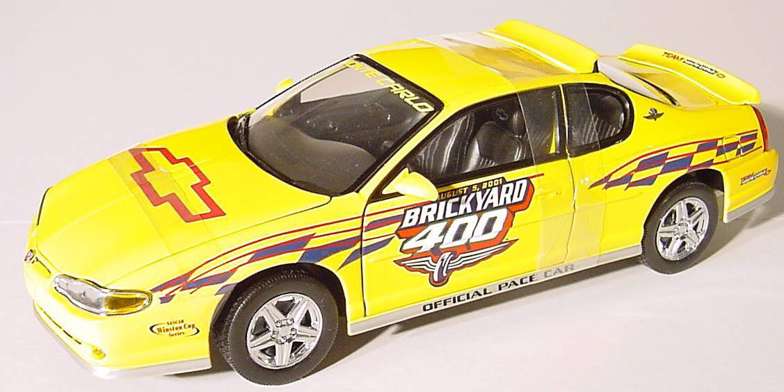 2001 Monte Carlo, 2001 Brickyard 400 Pace Car