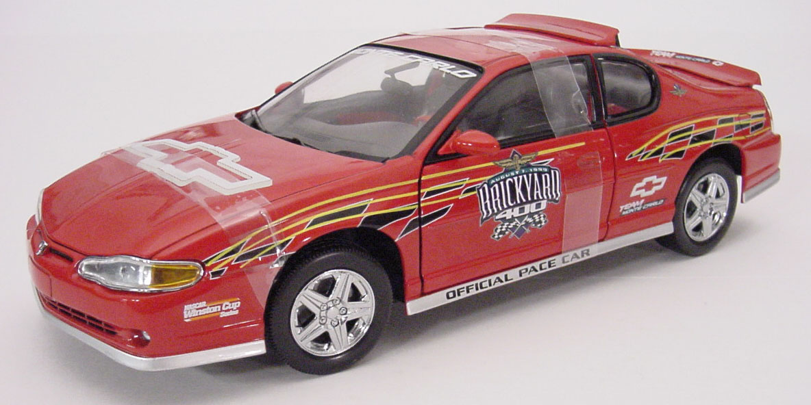 2000 Monte Carlo, 1999  Brickyard  400  Pace Car