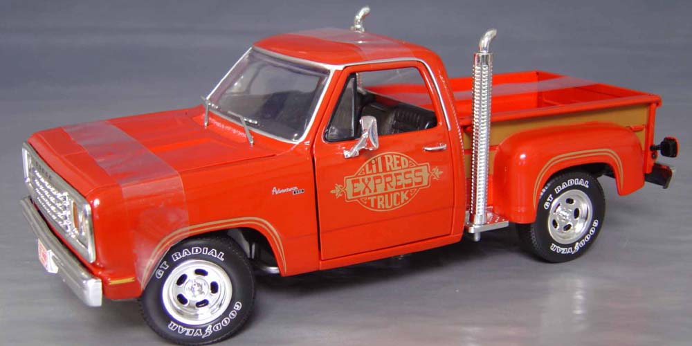 "Super Chief Ford Truck Price >> 1978 Dodge 'Lil Red Express Truck"" Details - Diecast cars ..."